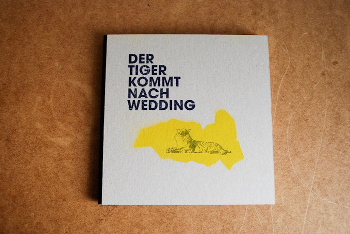 der tiger kommt nach wedding